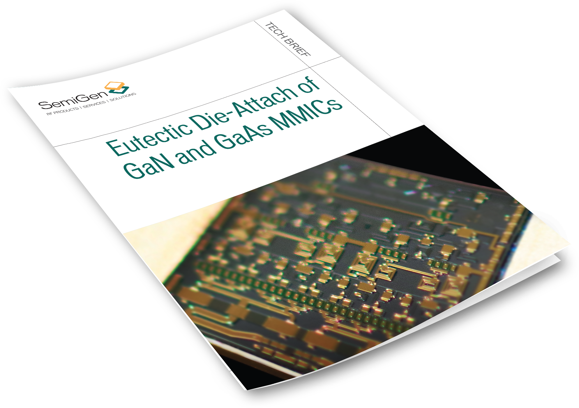 Tech Brief Describes the Best Eutectic Die-attach Method for MMICs in Hybrid Assemblies